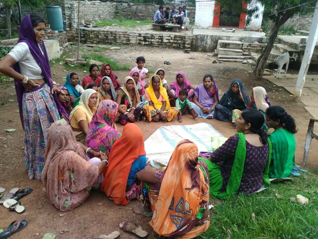 Ontmoeting van een vrouwengroep