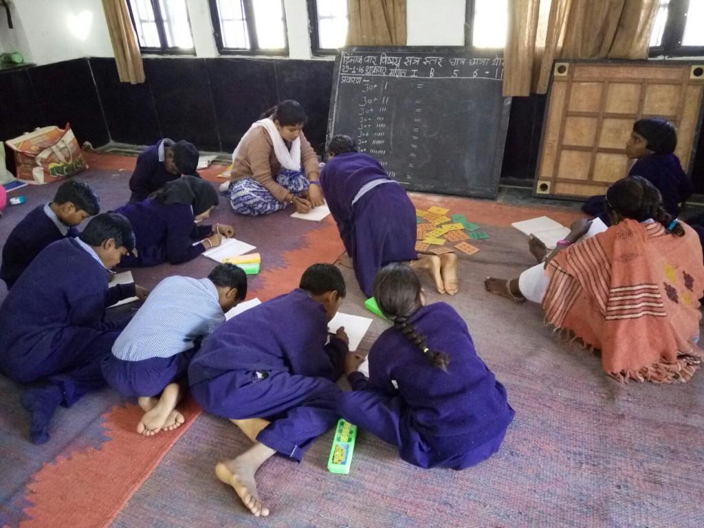 Training van lokale vrijwilligers in het kader van dit project