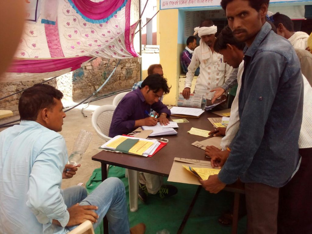 Registration of workers under Construction Workers Welfare Scheme
