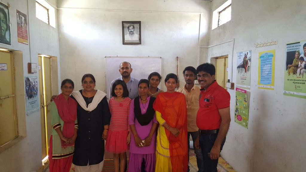 The Manjari team after a multi stakeholder meeting